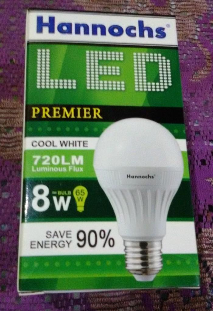 ... Lampu LED Hannochs 8 watt hemat energi awet dan bergaransi