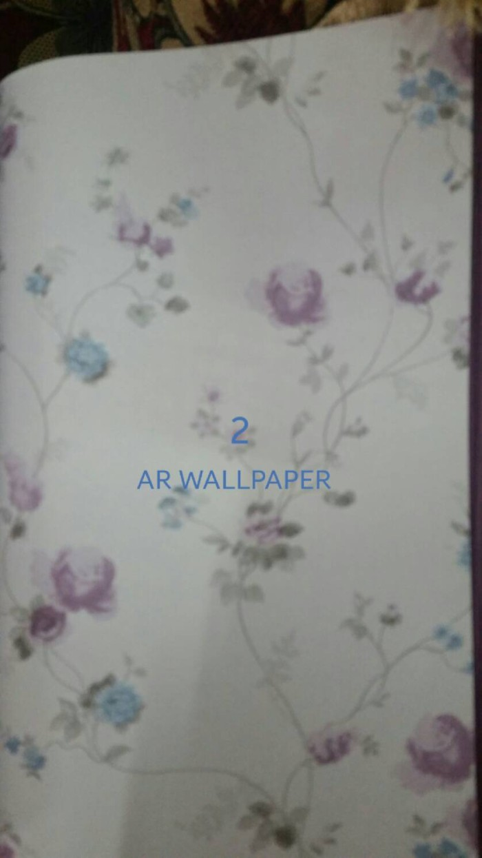 Jual Wallpaper Bunga Kecil AR WallpaperFurniture Tokopedia
