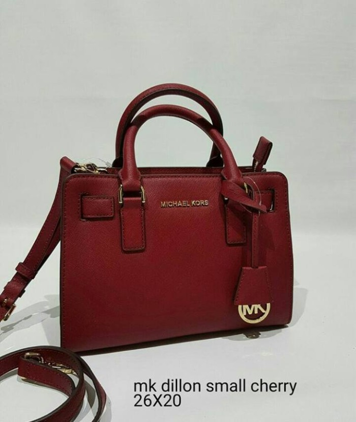 09bd8c0fd3c0 Jual JUAL TAS MICHAEL KORS DILLON SMALL CHERRY AS ORIGINAL ASLI ...