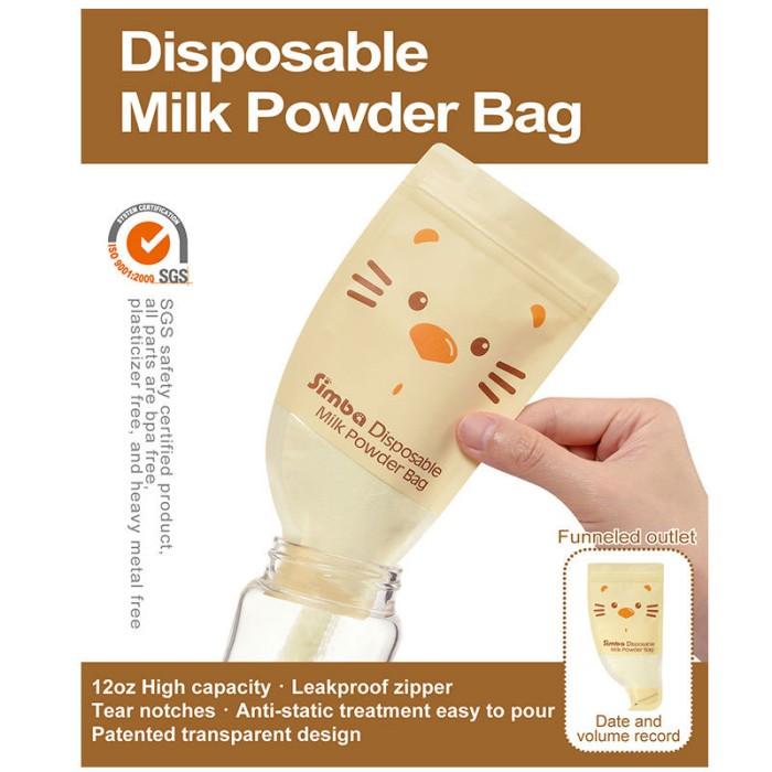Simba Disposable Milk Powder Bag Kantong Susu Travel Simpan Susu Bubuk