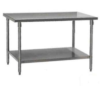Wk 150 Pabrikasi Stainless Steel Working Table Meja Kerja Dapur