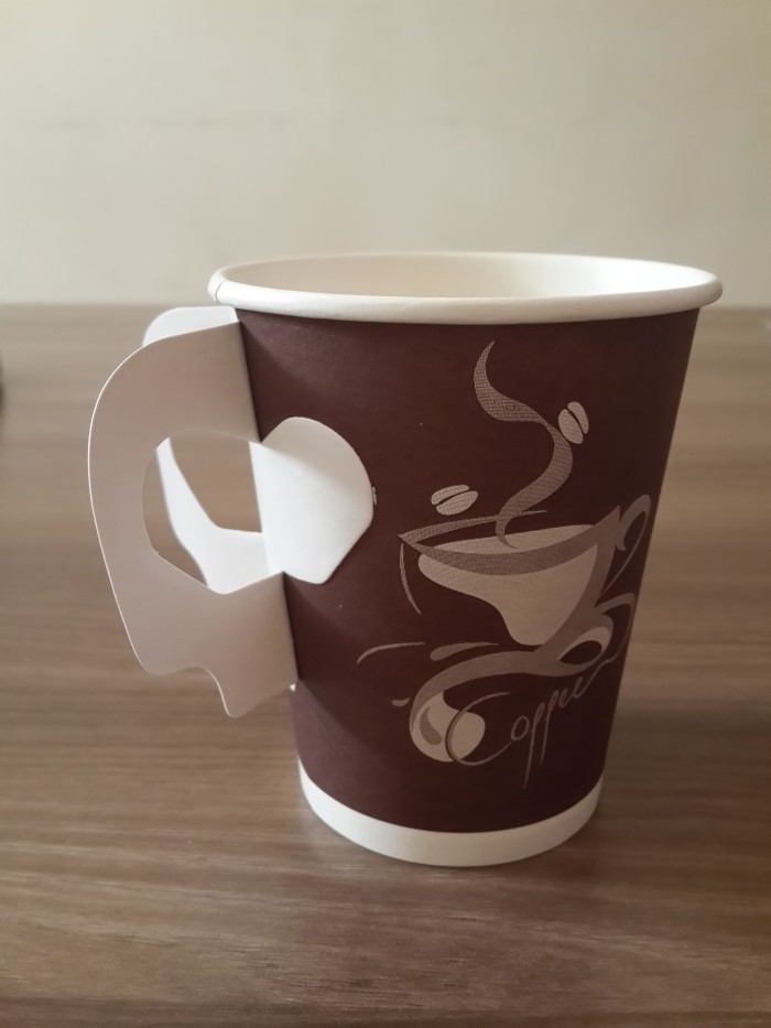 harga Paper cup/ gelas kertas kopi 9 oz + handle motif gelas Tokopedia.com