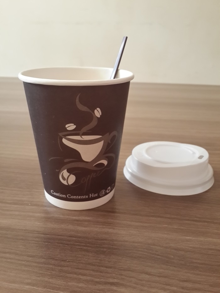 harga Paper cup/ gelas kertas kopi 9 oz motif gelas complete set Tokopedia.com