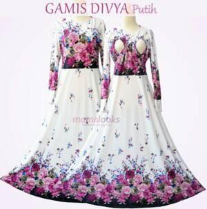 Jual Dress Hamil Baju Ibu Hamil Dan Menyusui Baju Lebaran Banu Gamis