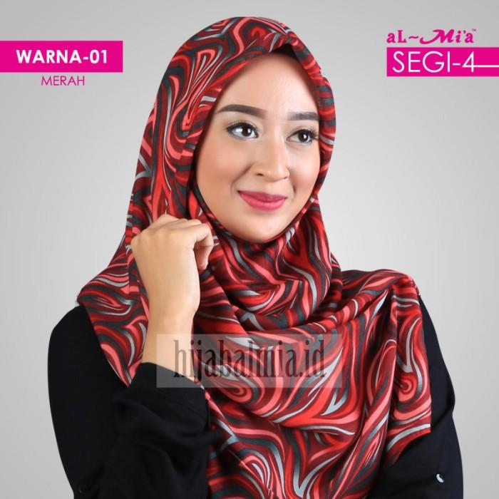Jilbab/Kerudung/Segiempat HIjab Almia S4 AA 0357
