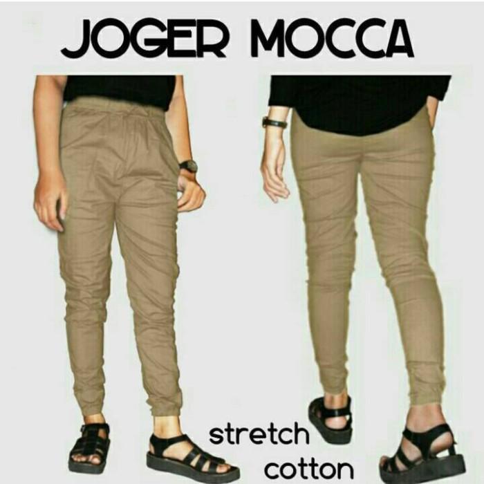 harga Jogger stretch cotton pants seri 3 : grosir cotton pants Tokopedia.com