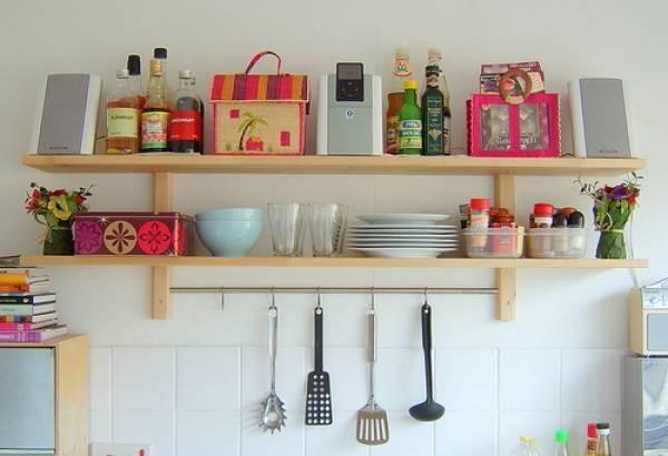 Rak Gantung Dapur Minimalis