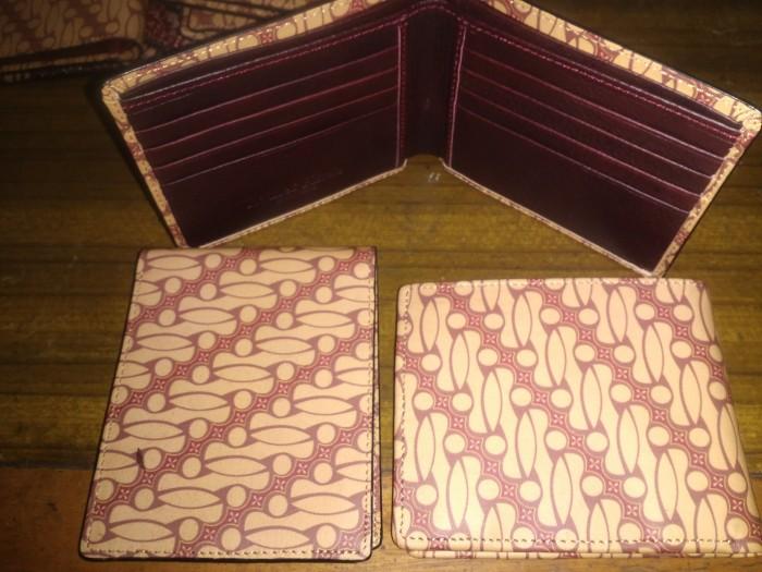 harga Dompet kulit pria / handmade batik leather wallet Tokopedia.com