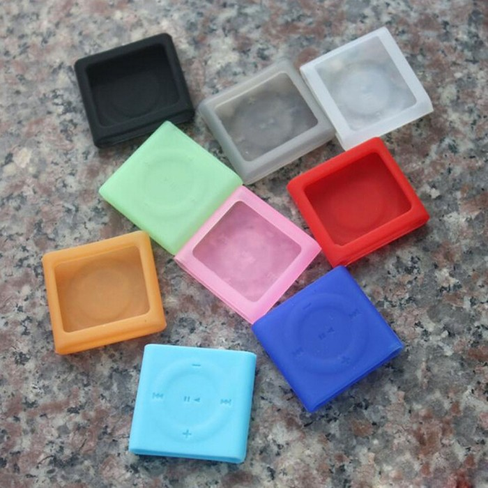 harga Ipod shuffle 4g silicone case / silikon ipod / ipod soft case rubber Tokopedia.com
