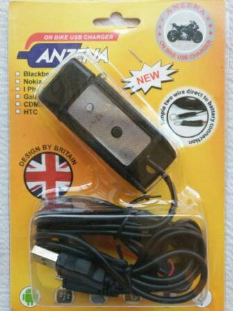 harga Charger hp bb nokia iphone di motor - on bike usb charger Tokopedia.com