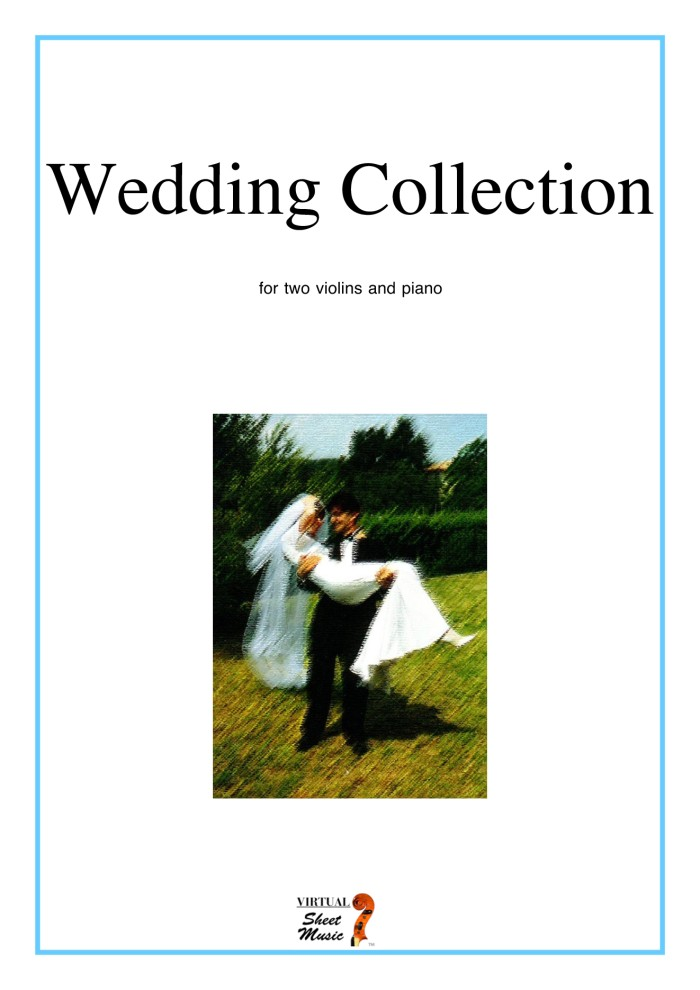 harga Buku trio 2 biola dan piano wedding collection Tokopedia.com