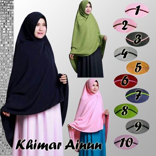 Jual Hijab Jilbab Khimar Ainun Gamis Store Tokopedia