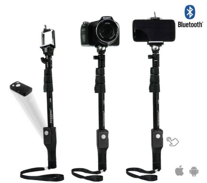 Yunteng YT-1288, Monopod / Tongsis Bluetooth + Remote Shutter