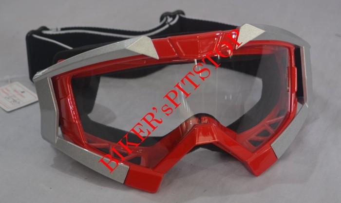 harga Goggle / kacamata motocross vega mvg merah Tokopedia.com