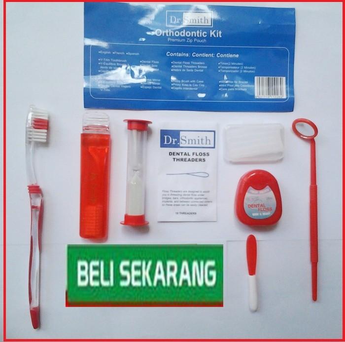 Jual Sikat Gigi Ortho (Set) Dr. Smith (Dental Kit ) khusus pengguna ... 45846e327a