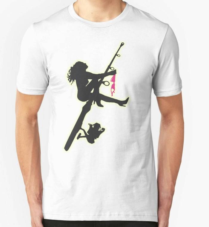 harga Kaos/t-shirt/baju mancing mania sexy fishing Tokopedia.com