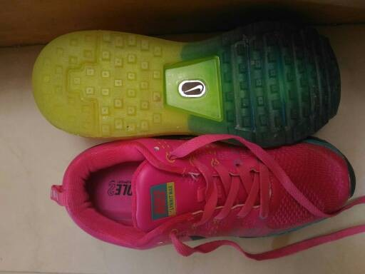 online store 57a52 55ee6 Sepatu Nike Air Max Flyknit Women KW Super Pink Blue Green .