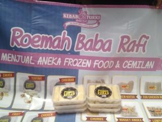 Banner Jual Frozen Food - desain spanduk kreatif