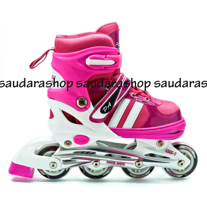 Power Speed Sepaturoda Inline Pink Sepatu Roda Inline Skate Pink ... 40ee441896