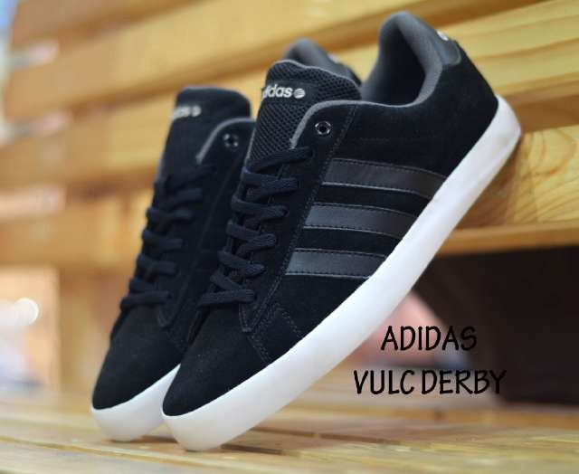 Besties Derby Premium Quality Sneakers Sepatu Fashion Wanita Hitam Source · Sepatu  adidas vulc derby hitam 5a5fbeb76d
