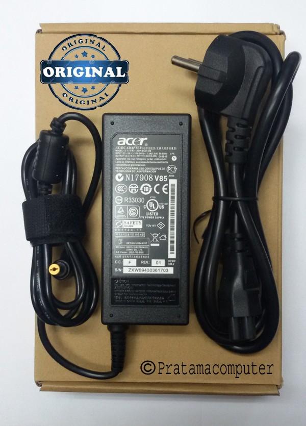 Foto Produk Charger Ori Laptop Acer Aspire 4738 - 4738Z Series Bonus Kabel Power dari Toko Pratama Computer