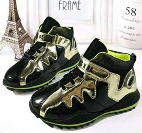 harga Sepatu anak 27-31 black sport walker shoes kids balita toddler Tokopedia.com