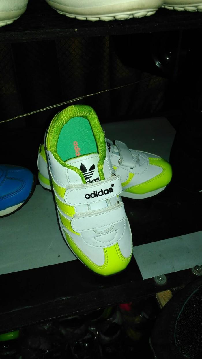 Jual Sepatu Adidas Anak Original Impor Putih Kuning Sanzis Gallery Spatu