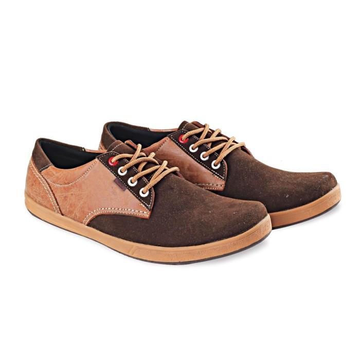 harga Sepatu pria | kulit original | coklat | casual | sneakers | lsm 360 Tokopedia.com