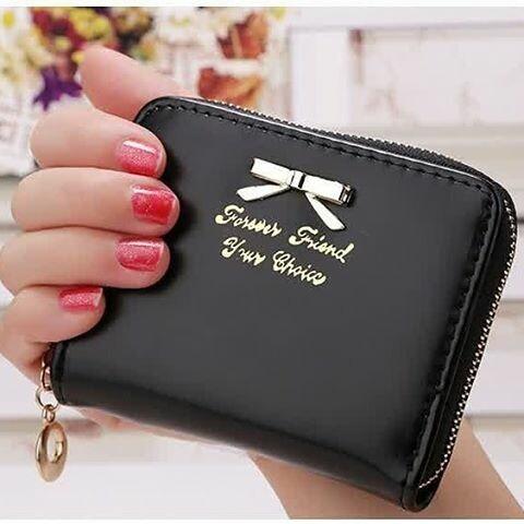 Dompet Wanita Import Mini Ribbon Wallet