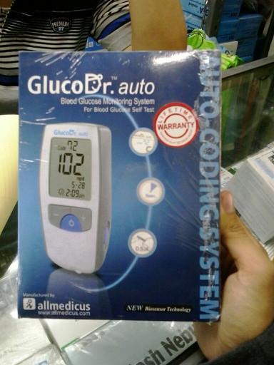Foto Produk Cek Gula Darah Gluco Dr Auto dari BHUANA MEDIKA