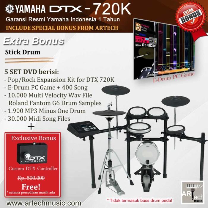 Jual Drum Elektrik Yamaha DTX720 DTX720K DTX 720 DTX