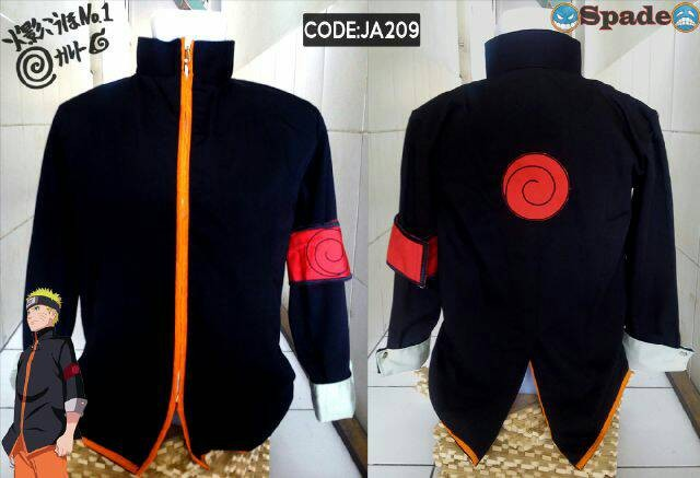 Jaket Distro Anime Naruto