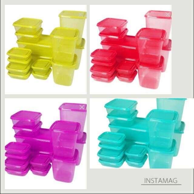 CALISTA OTARU SEALWARE SET 7G PREMIUM 14 PC WARNA BARU