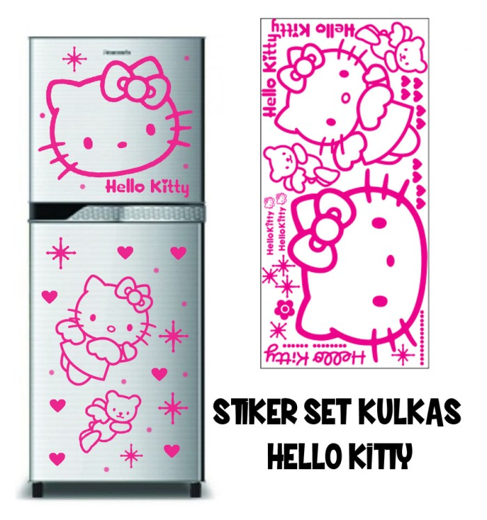 harga Stiker set kulkas hello kitty Tokopedia.com