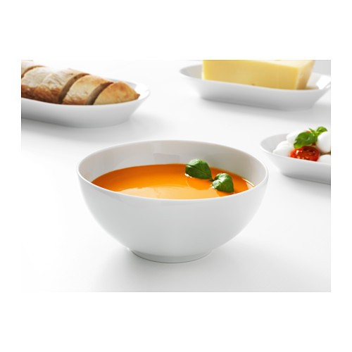 Ikea 365+ mangkuk bulat putih 16cm