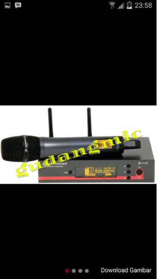 harga Mic wireless sennheiser ew 135 g3 ( single mic ) Tokopedia.com