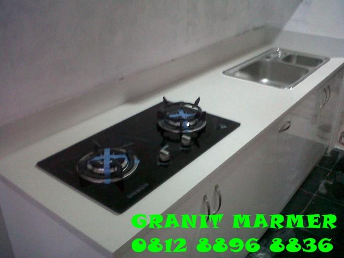 Jual meja dapur granit marmer granit marmer murah for Buat kitchen set murah