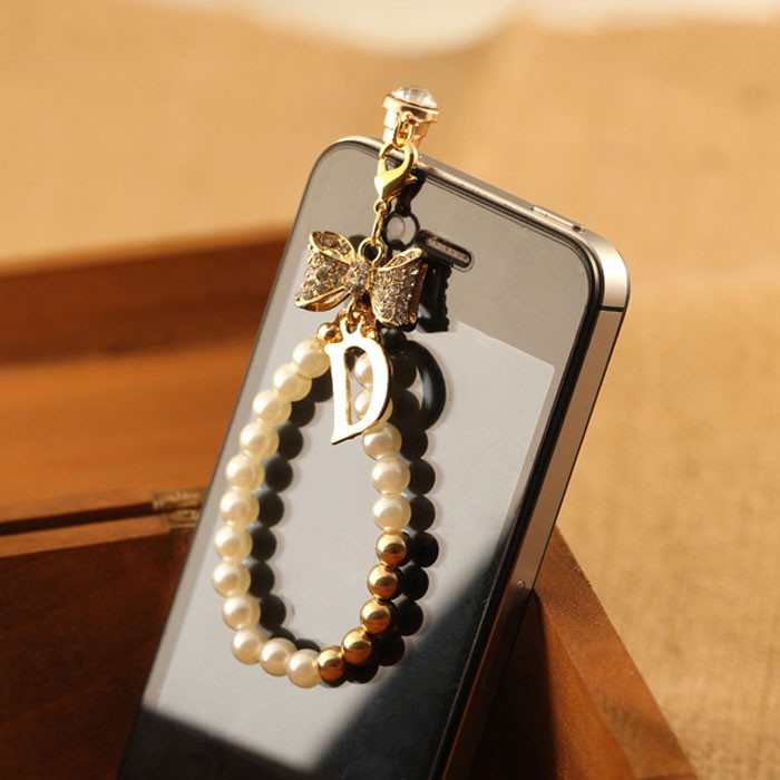 harga Ho4441 - dust plugs / pluggy / plugin pearl diamond bow Tokopedia.com