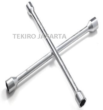 harga Tekiro kunci roda mobil palang 14 inch - 4 way cross wrench Tokopedia.com