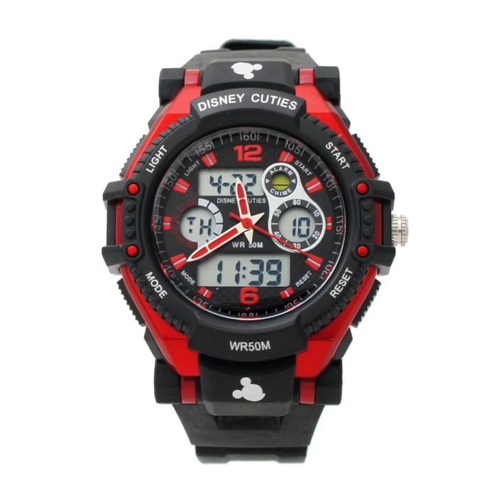 harga Disney original ms5549-r jam tangan sports anak kids watch mickey red Tokopedia.com