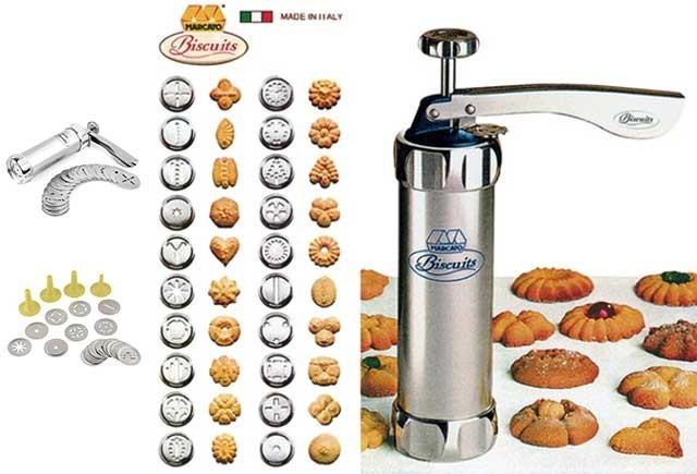 Cetakan kue marcato - biscuit maker - alat dapur praktis