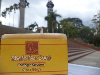 Sabun lulur bar soap mangir kopi coklat dan lumpur.
