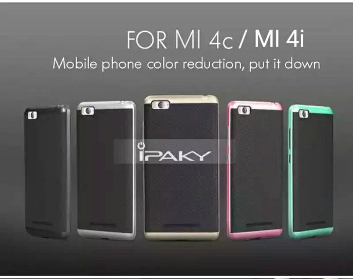 buy popular ae165 8965f Jual Ipaky Case Armor Hybrid Hard Cover Soft Casing ORI Xiaomi Mi4i - Mi 4i  - DKI Jakarta - Hosanagadget | Tokopedia