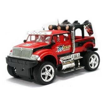 Tomindo Remote Control King Driver Jeep - Merah