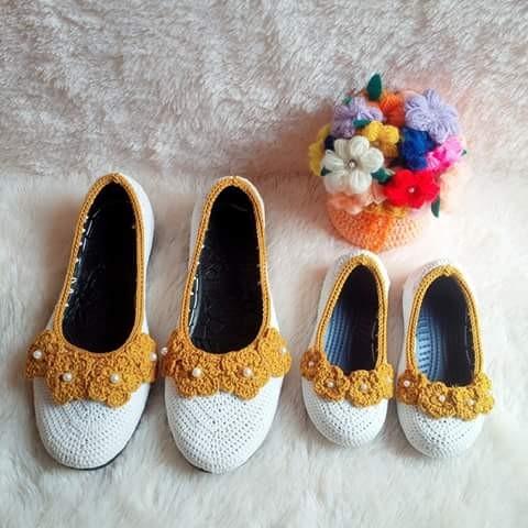 harga Sepatu flat couple mom n kids Tokopedia.com