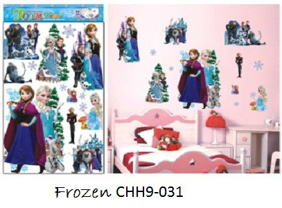jual wall sticker / wall stiker dinding anak-anak karakter frozen