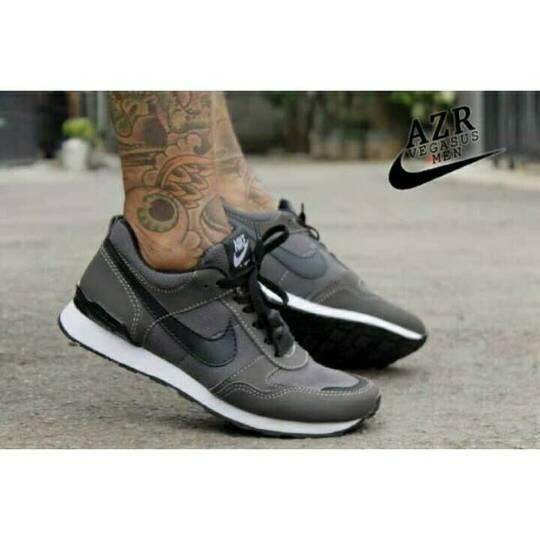 Harga Sepatu Casual Skate Running Pria Nike Vegasus Azr Coklat List Hitam Tokopedia