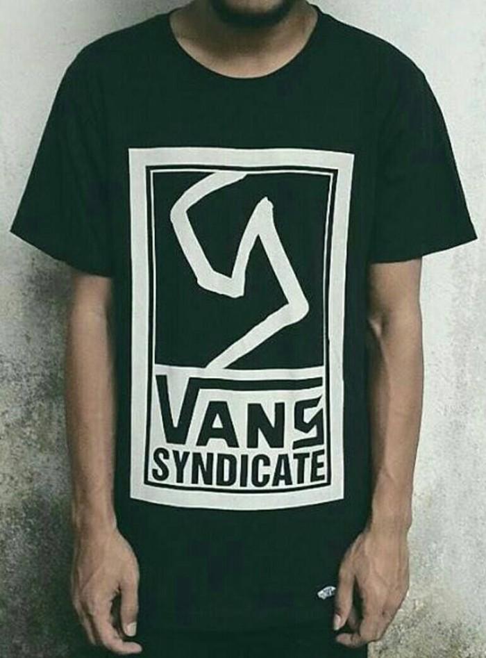 Kaos/T-Shirt/Baju SKATER VANS SYNDICATE