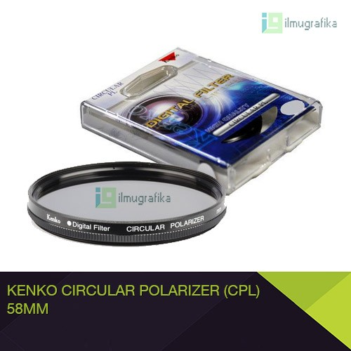 harga Filter cpl circular polarizer kenko 58mm Tokopedia.com