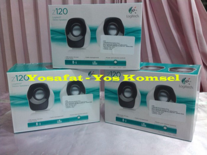 harga Speaker stereo logitech z120 usb power Tokopedia.com